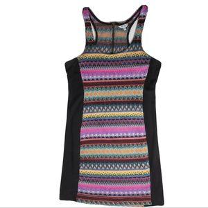 Buffalo David Bitton Dress Size L Multi Color